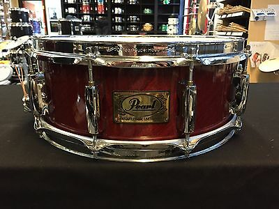 Pearl Mahogany Classic Limited Edition 14 x 5.5 Snare Drum