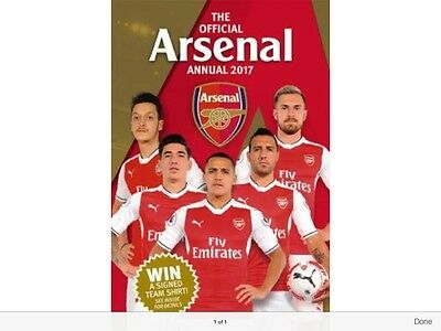 The Official Arsenal Annual 2017