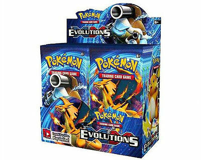 ( EVOLUTIONS ) - Trading Card Game XY Booster Box - Sealed New! - Pokemon