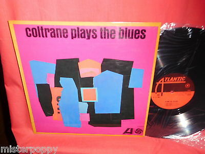 JOHN COLTRANE Plays the Blues LP ITALY 1962 MONO Originale MINT- First Pressing