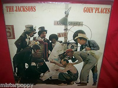 THE JACKSONS Goin' Places LP UK 1977 MINT- First Pressing
