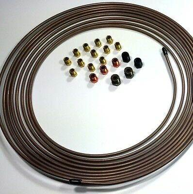 "Copper Nickel Tubing 3/16"" 25 ft roll WITH Fitting Kit"