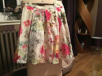 NEXT girls floral skirt - age 5
