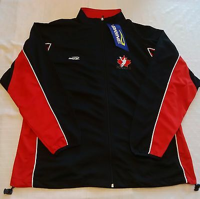 Team Canada Lacrosse Warm Up Suit - Large - NEW
