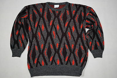 Strick Pullover Strick Pulli Sweater Hipster Sweatshirt Vintage Knit 90s ca. S-M