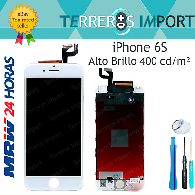 Pantalla Completa LCD Display Tactil iPhone 6S A1633 A1688 A1700 Blanco Blanca