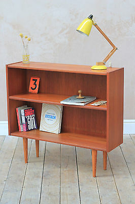 Vintage Retro Mid Century Danish Teak Book Shelf ( UK Delivery Available )
