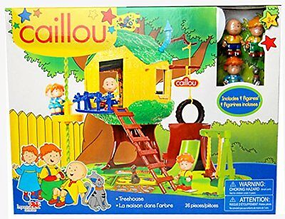 Caillou Tree House Playset - Includes 4 Figures
