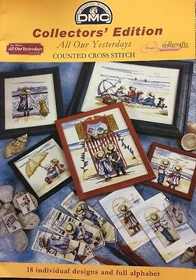 Dmc Collectors' Edition 'All Our Yesterdays' Counted Cross Stitch Charts