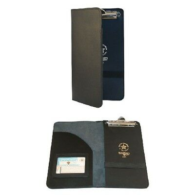 Boston Leather 5882-1 Citation Holder Pocket ID Holder & Ticket Book Slot