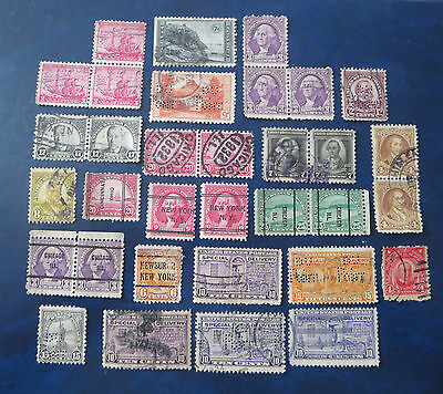 Usa Stamps Old Lot Of Used  Special Delivery/perfins/overprints
