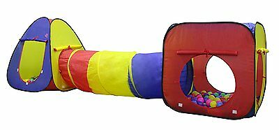 Kids Play Tent Tunnel Indoor Outdoor Pop Up Children House Crawl Ball Pit GIFT