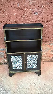 Upcycled Regency Style Bookcase / Bookshelves