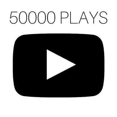 +50.000 YOUTUB/Plays (50.000 Promotion) High Quality