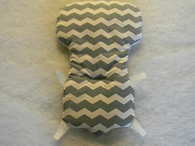 Eddie Bauer And Carter High Chair Cover in Grey Chevron