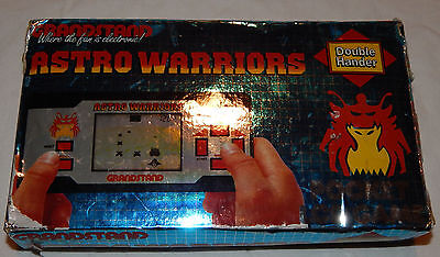 Vintage Astro Warriors Lcd Large Handheld Game By Grandstand In Box/boxed
