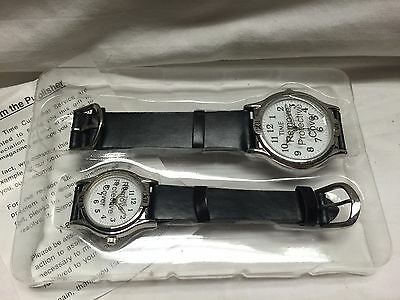 Lot of 2 Time Promotional Watches New/ Never used.