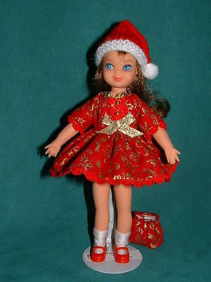 Fancy Christmas Dress for Tutti by Michelle