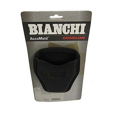 Bianchi #7334 AccuMold Open Top Handcuff Case Nylon Black 22964