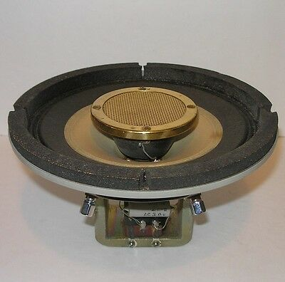 """one vintage Alnico magnet 8"""" coaxial full-range driver, Japan c.1965—superb cond"""
