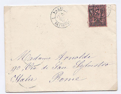 FRANCE 25c BLACK ON RED SG 262 & SG.267 BOTH ON COVERS. HIGH CAT VALUE