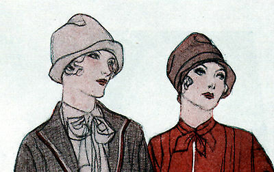 1920's Fashions- Copperhead Browns Color Schemes,Clothing ad -0-793