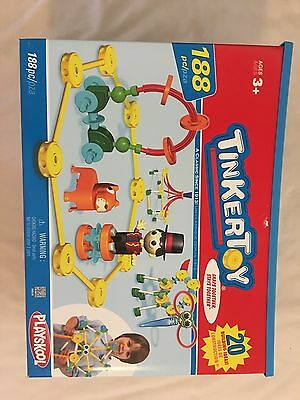 Tinker Toys 188 pc Plus 2 Additional Sets