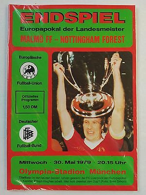 1979 European Cup Final Malmo v Nottingham Forest Mint condition