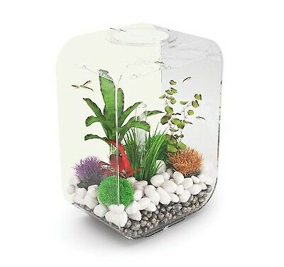 biOrb Life Limited Edition Aquarium 15 Litre White LED Light