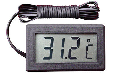 LCD Digital electronic thermometer body/room/car/aquarium thermometer External