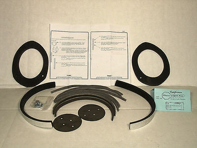 1968 Firebird Astro Vent  & A/C Duct & Ball Seal Kit