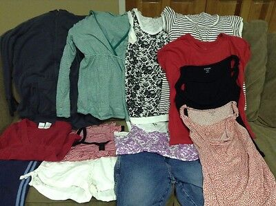 Size S/M Maternity lot - 13 items - Free shipping!