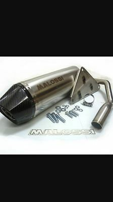 malossi carbon exhaust with original catalytic converter rrp £689