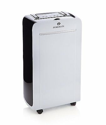 New PureMate® PM 412 Portable 12 Litre Dehumidifier with Ioniser