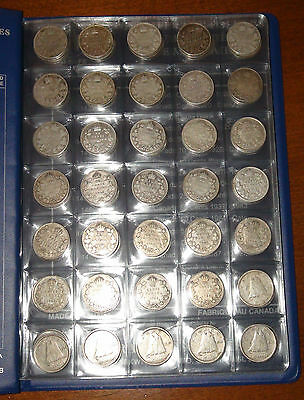 Collection of Canada TEN CENTS Coins: 1911-2016! - Canadian DIMES SET! - 10¢