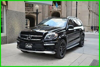 2016 Mercedes-Benz GL-Class AMG® GL63 4MATIC® 2016 AMG GL63 4MATIC Used Turbo 5.5L V8 32V Automatic 4MATIC SUV Moonroof
