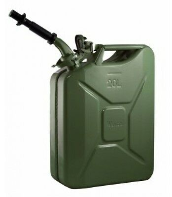 New Nato Green 20 Liter Jerry Can. Spout Included. Real Wavian Can.