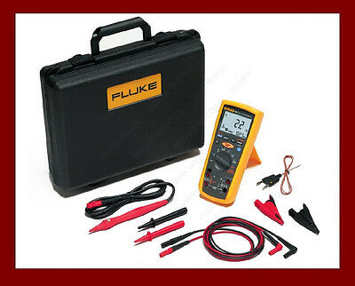 Fluke 1587 FC Wireless 2017 Fluke Connect Insulation Multimeter DMM Kit USA made