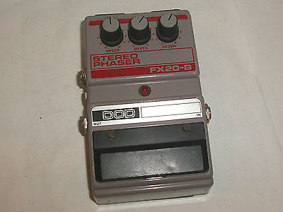 DOD FX-20B Stereo Phaser Guitar Effects Pedal