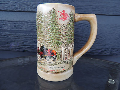 1976 Budwieser Grant's Farm Stein variation 2 Championship Clydesdales  CS15-2