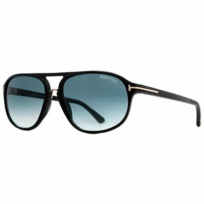 GENUINE TOM FORD TF447 Sunglass Replacement Lenses - Gradient Blue CR-39