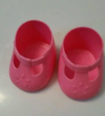 My Child doll Hot Pink  T strap shoes*China