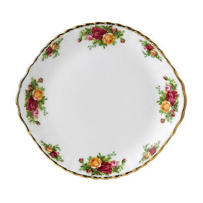 NEW Royal Albert Old Country Roses Cake Plate
