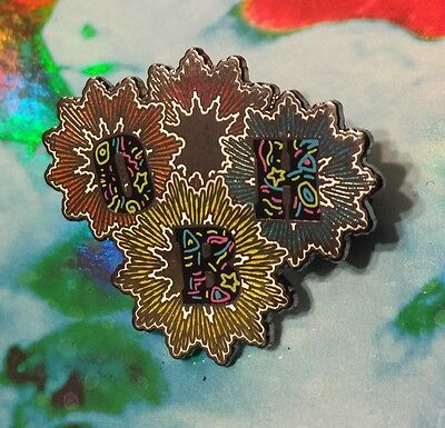 """My Morning Jacket Pin - """"One Big Holiday"""" - Limited Edition #/100 - GLITTER"""