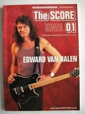Edward Van Halen Young Guitar The Score 01 Japan Mag Guitar Score Tab