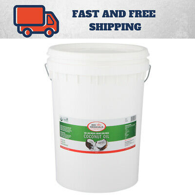 Raw Extra Virgin Coconut Oil, Certified Organic. 20 Litre Pail