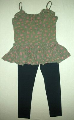 set of girls' clothes 9 years NEXT a top and leggings VGC
