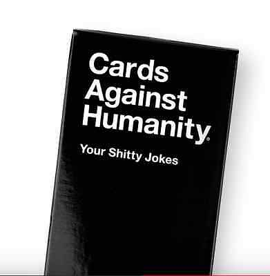 Cards Against Humanity New Expansion Your Sh** Jokes 50 Blank Cards CAH