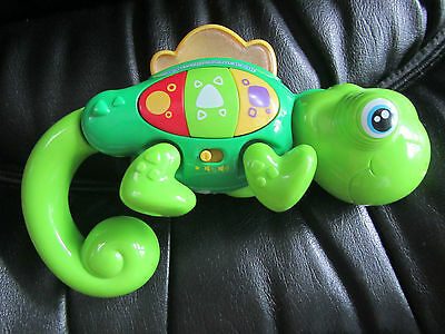 cutest baby vtech light up green animal musical toy - MORE LISTED