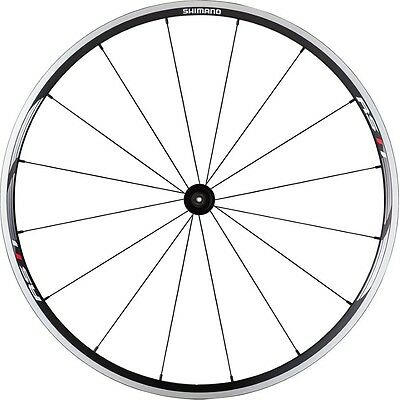 Shimano RS11 Clincher Front Wheel + FREE Continental GP 4 Season Tyre